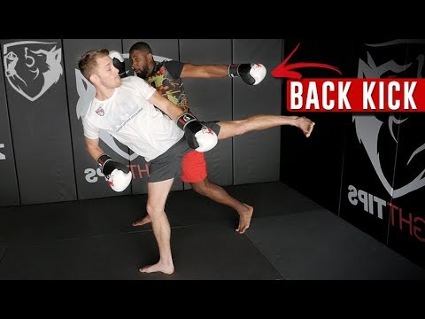 How to Defend Against a Spinning Back Kick