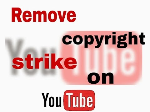 How to remove Copyright Strike Status on You Tube (MALAYALAM)