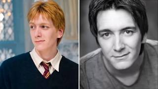 Harry Potter Stars Then & Now