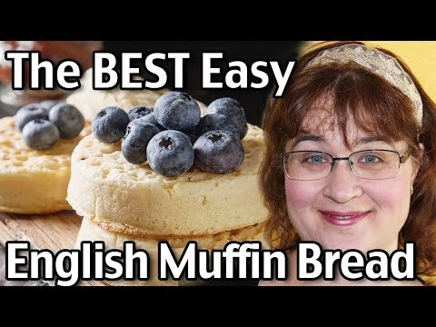 How To Make The BEST English Muffin Bread!