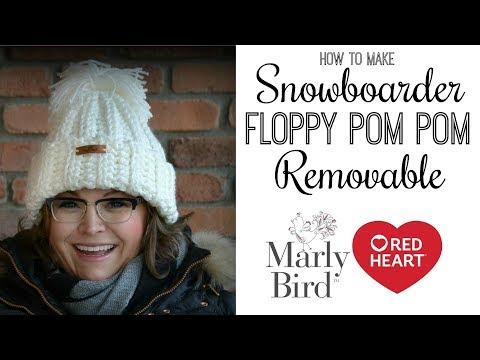 Floppy Tassel Pom Pom for Snowboarder Hat