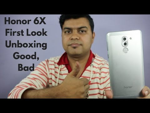 Honor 6X Unboxing, First Look, Good, Bad, Expected Price | Gadgets To Use