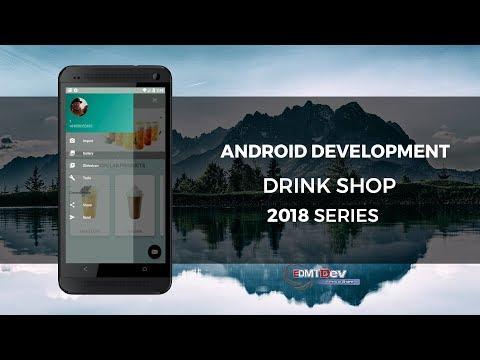 Android Development Tutorial - Drink Shop App part 13 Upload avatar