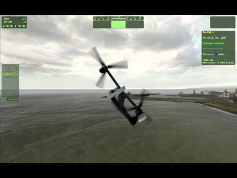 Flying a V-22 Osprey