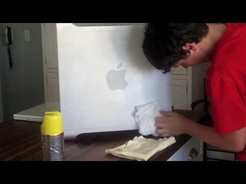 How to clean A Mac pro/ aluminium computer