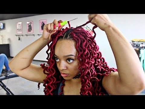 Watch Me SLAY These Wavy CROCHET FAUX LOCS! {DETAILED TUTORIAL}