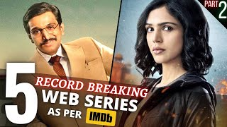 TOP 5 Indian WEB SERIES in 2020 Beyond Imagination😳 IMDB Highest Rating Ever