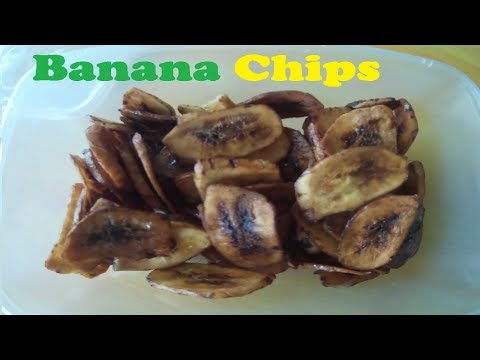 How to make Banana Chips -- Kitchen Channel --