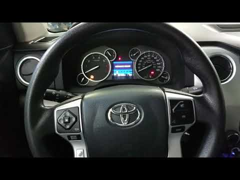 How to reset maintenance required light Toyota Tundra and Sequoia 2000-2015