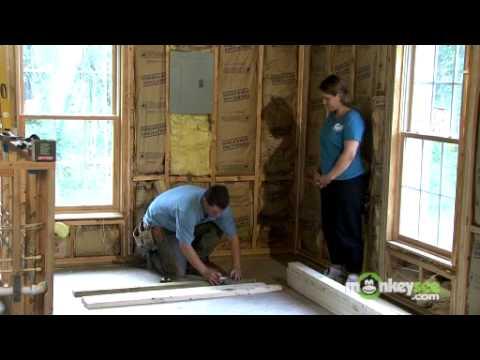 Build a Closet - Beginning Construction of the Walls