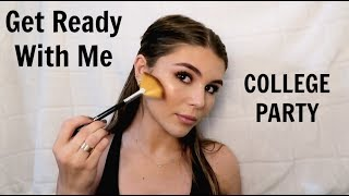 Get Ready with Me: LAST College Party before break