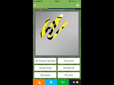 Scratch Football Logo Quiz (iOS)