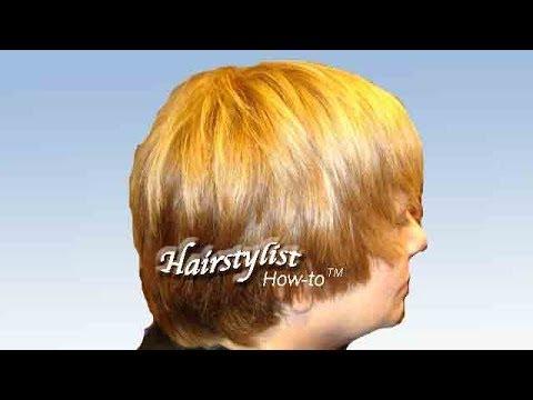Short Layered Haircut, Pixie-cut