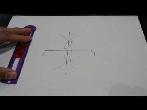 safe-t compass line segment perpendicular bisector (with matching instructions)