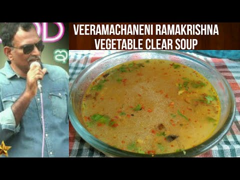 Veeramachineni Ramakrishna Diet-Vegetable Soup-Veg clear soup-Effective weight loss result in 7days