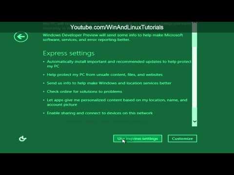 [VMware Workstation 8] Windows 8 Developer Preview Installation