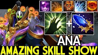 ANA [Rubick] Amazing Skill Show Nonstop Steal Skill WTF Game 7.21 Dota 2