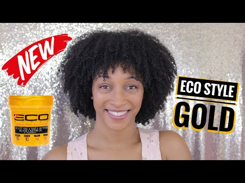 **NEW** Eco Style Gold Demo and Review | Wash and Go
