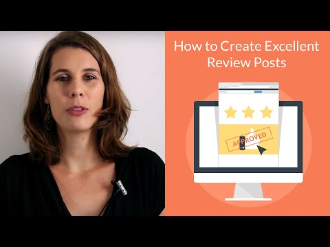 How To Create Excellent Review Blog Posts