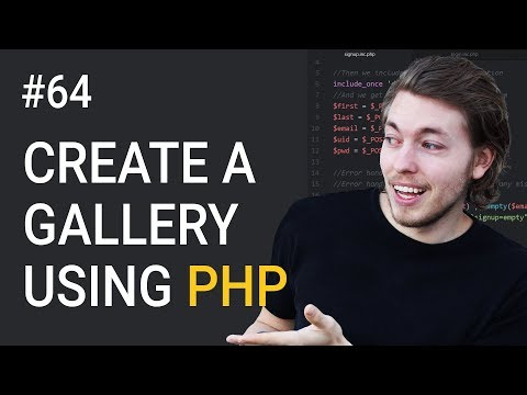 64: How to Create a PHP Gallery Part 2 | Database & PHP | Upload Image to Website | PHP Tutorial