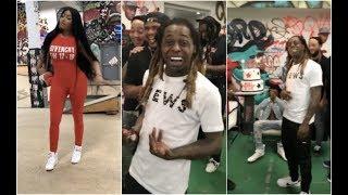 Nicki Minaj Throws Lil Wayne Surprise Birthday Party At Skate Park #AllUrbanCentral