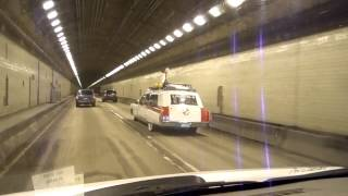 """""""The Pittsburgh Ecto-1"""" in Squirrel Hill Tunnel, Pgh, PA"""