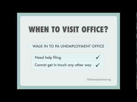 How to Contact Pennsylvania Unemployment Office