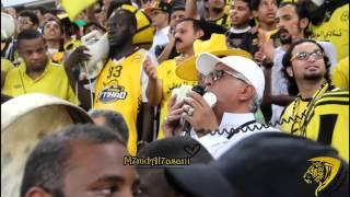 كوكتيل من طرب الاتحاد بصوت صالح القرني في مباراة #الاتحاد_الهلال HD