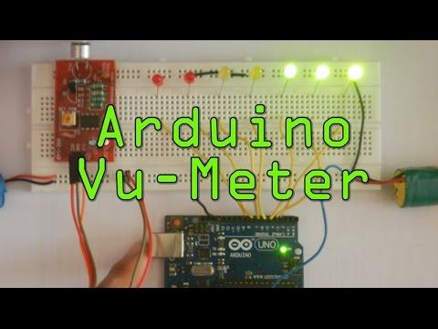 Vu Meter using Arduino UNO