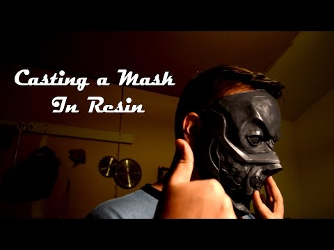 Casting a Cosplay Mask in Resin