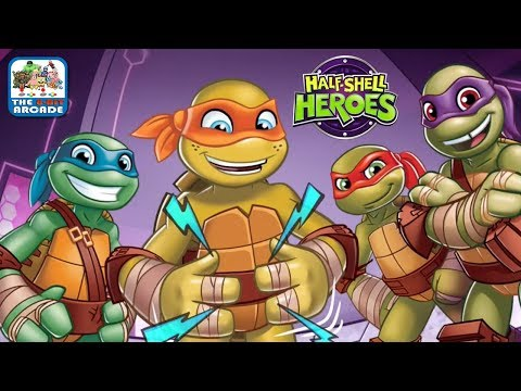 TMNT: Half-Shell Heroes - A Growling Stomach is the Sound of Victory (Nickelodeon Games)