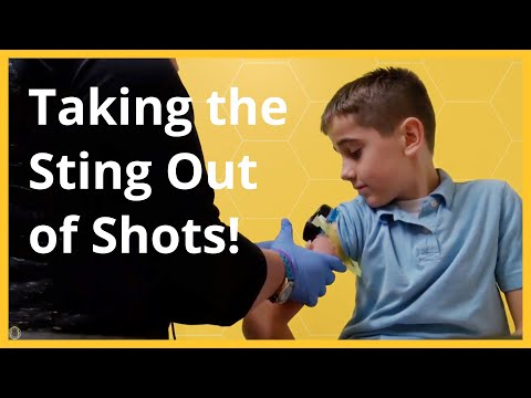 Buzzy Makes Shots As Painless As Possible