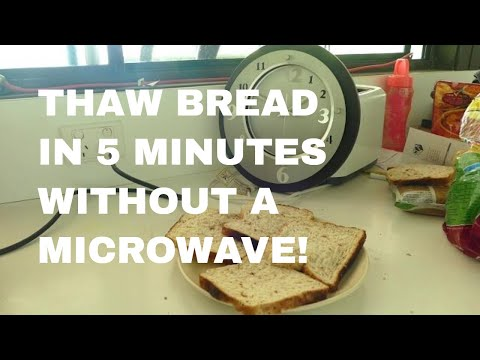 Defrost Bread in MINUTES WITHOUT Microwave 🍞