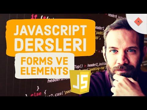 Yakın Kampüs - Javascript Ders 28 - Javascript'te Formlara Ulaşmak-Forms ve Elements Komutları