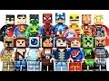 New LEGO Minecraft Skin Pack 1 & 2 plus DC & Marvel Super Heroes Minifigures