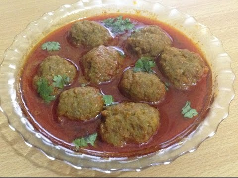 Mutton Kofta Curry (Meatball) -kofta recipe-Recipe By Chef Shaheen