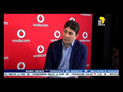 Vodacom's shares are down