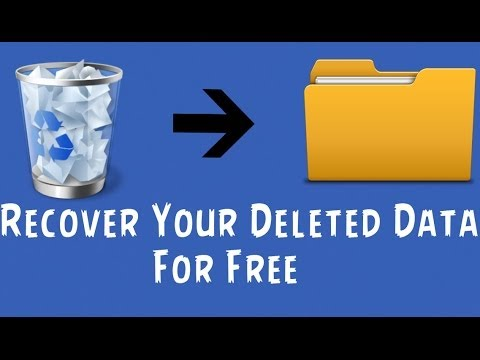 How to Recover Deleted files/Data in Windows System