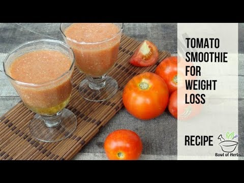 Tomato smoothie for weight loss - Recipe