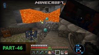 [Hindi] MINECRAFT | TRYING TO MINE WITH TNT FOUND SO MANY DIAMONDS & CAVE ADVENTURE#46