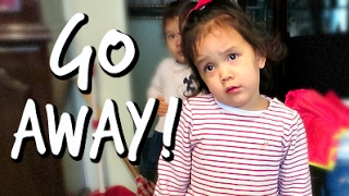 KICKED OUT OF THE HOUSE! - February 15, 2017 - ItsJudysLife Vlogs