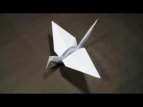 How To Make a Paper Crane - Easy Origami Paper Crane
