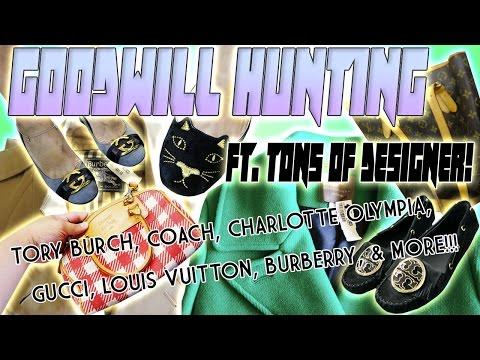 GOODWILL HUNTING FT. BURBERRY, TORY BURCH, GUCCI, COACH, MICHAEL KORS, & CHARLOTTE OLYMPIA