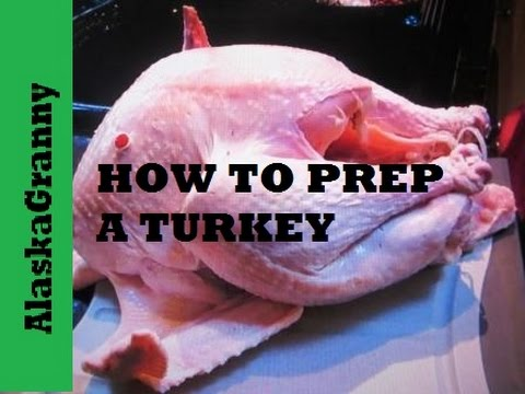 How To Prepare Turkey For Roasting
