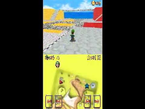 Super Mario 64 DS hack - imported custom level