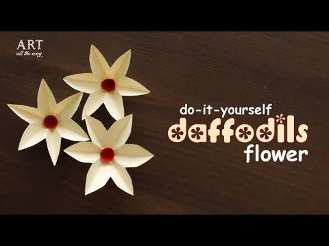DIY : Paper Daffodils