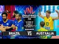 Brazil Vs Australia Highlights Mens VNL 2019