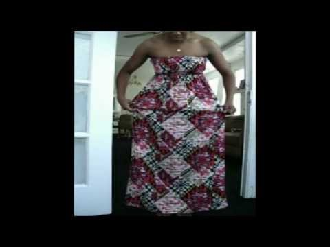 MAXI DRESS HOW TO: Turn your too long maxi dress into a short dress