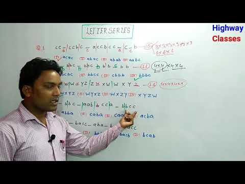 Latter series in Reasoning for UP Police RRB railway SSC CGL by S.K Gautam sir