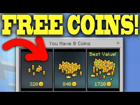 How to get FREE Minecraft Coins for MCPE!!! [1.1+]